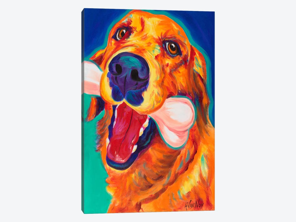My Favorite Bone by DawgArt 1-piece Canvas Art Print