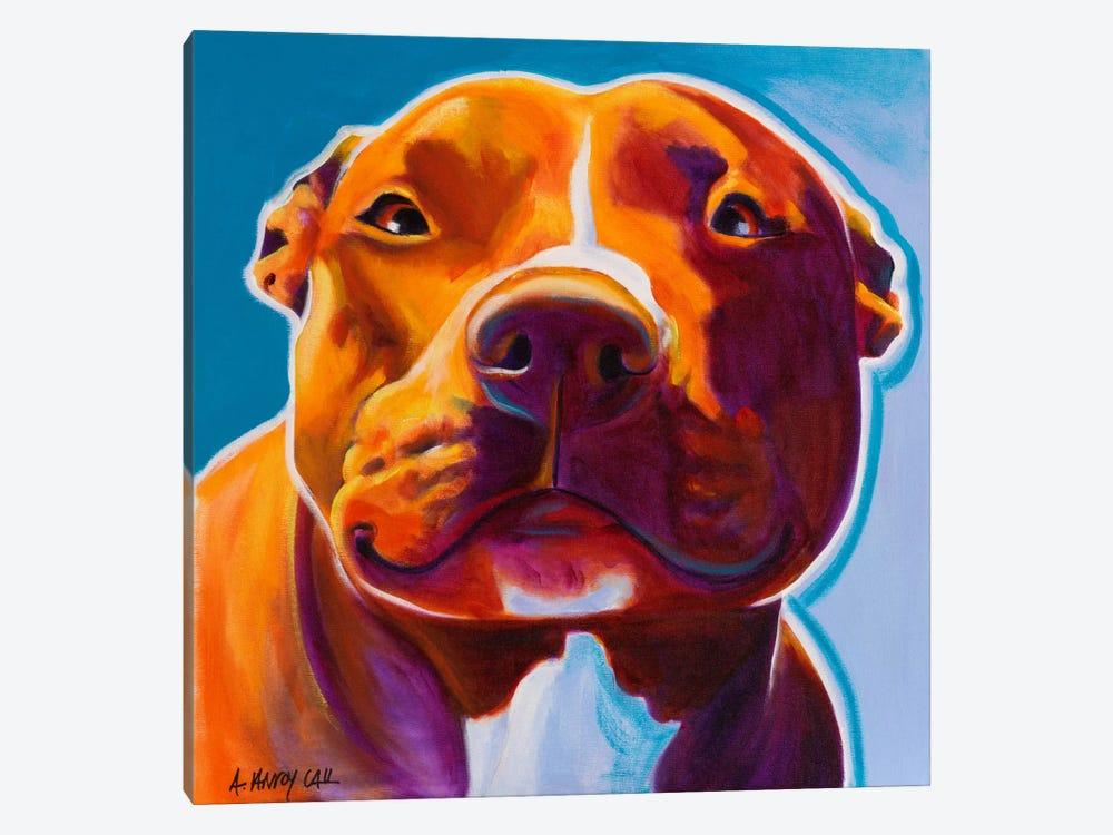 Scarlett by DawgArt 1-piece Canvas Art