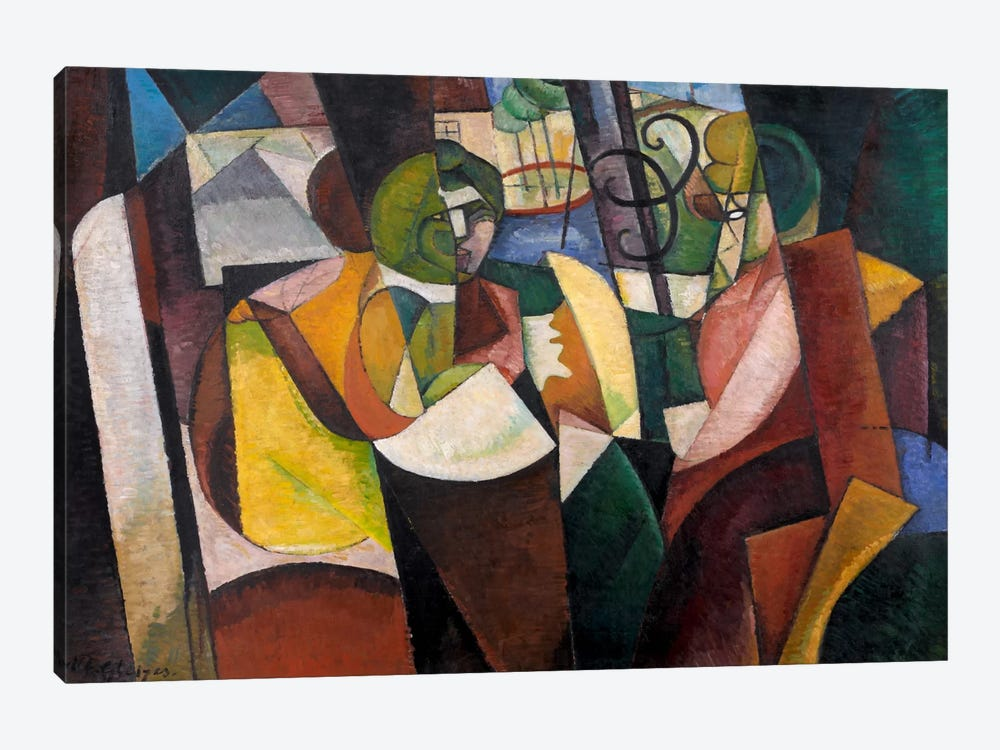 Metzinger, Cubism and After by Albert Gleizes 1-piece Canvas Print