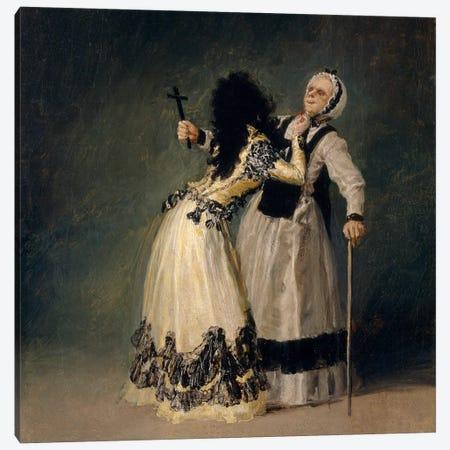 The Dutches of Alba And La Beata, 1795 Canvas Print #15333} by Francisco Goya Canvas Artwork