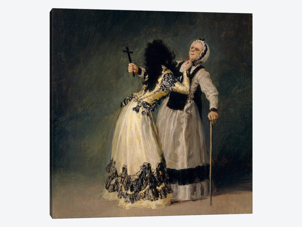 The Dutches of Alba And La Beata, 1795 by Francisco Goya 1-piece Canvas Wall Art