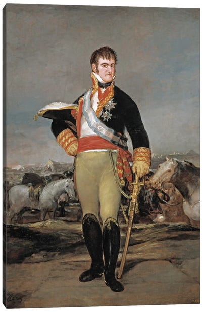 Ferdinand VII of Spain, 1814 Canvas Art Print