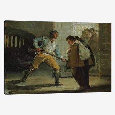 Friar Pedro, 1806 Canvas Print #15341} by Francisco Goya Canvas Print