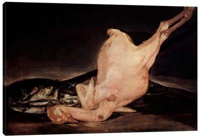Plucked Turkey Canvas Print #15345