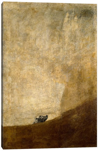 The Dog, 1823 Canvas Art Print