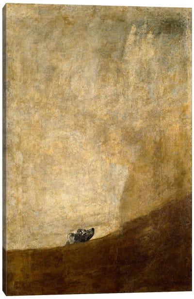 The Dog, 1823 Canvas Art Print