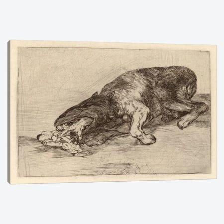 Fierce Monster, 1820 Canvas Print #15371} by Francisco Goya Canvas Artwork