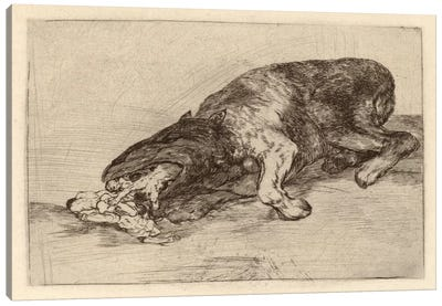 Fierce Monster, 1820 Canvas Art Print
