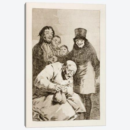 Los Caprichos: Why Hide Them? Canvas Print #15373} by Francisco Goya Canvas Artwork