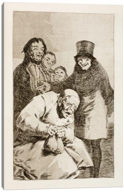 Los Caprichos: Why Hide Them? Canvas Art Print