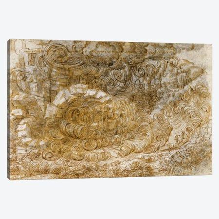 Deluge, 1518 Canvas Print #15387} by Leonardo da Vinci Canvas Art