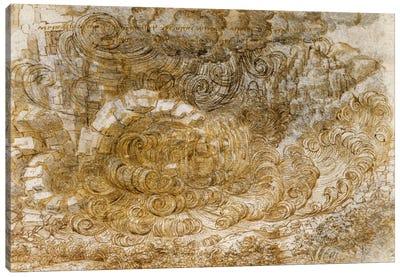 Deluge, 1518 Canvas Art Print