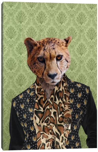 Chase the Cheetah Canvas Art Print