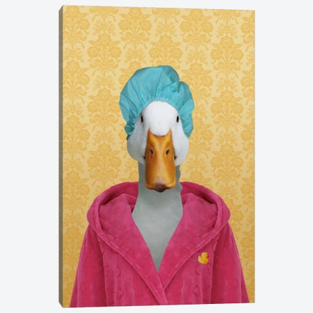 Dorothy the Duck Canvas Print #15458} by 5by5collective Canvas Art Print