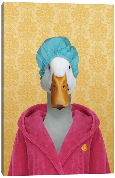 Dorothy the Duck Canvas Art Print