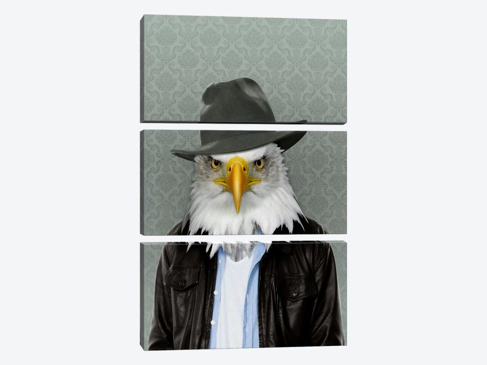 Edward the Eagle by 5by5collective 3-piece Art Print