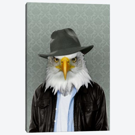 Edward the Eagle Canvas Print #15459} by 5by5collective Canvas Print