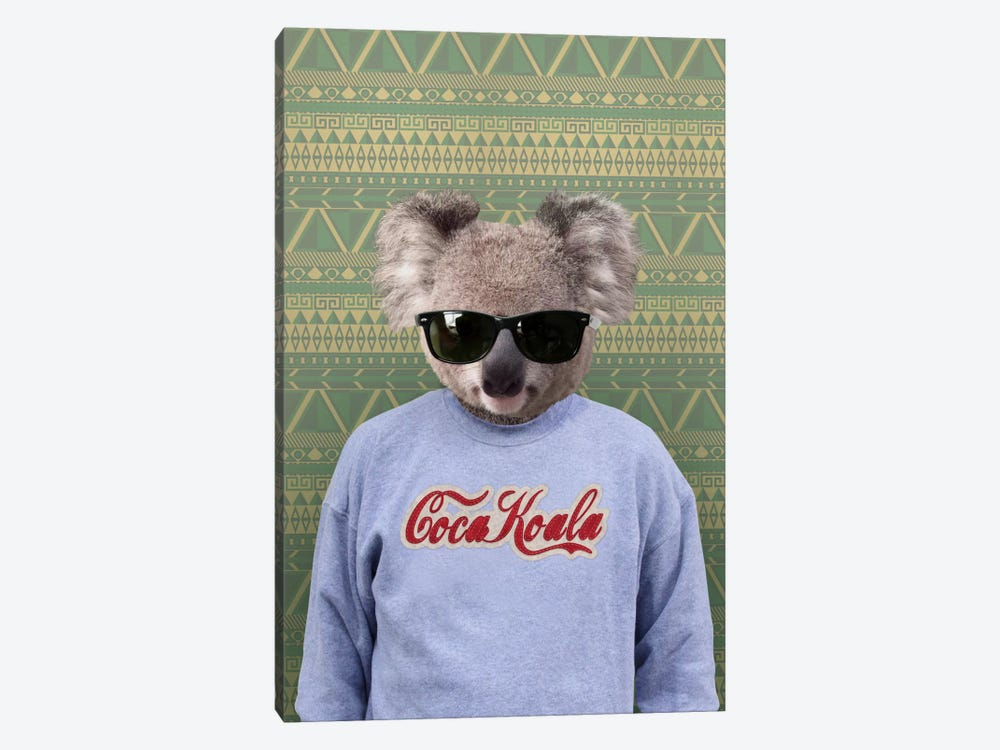 Clifford the Koala by 5by5collective 1-piece Canvas Wall Art