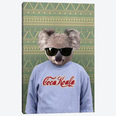 Clifford the Koala Canvas Print #15472} by 5by5collective Canvas Print