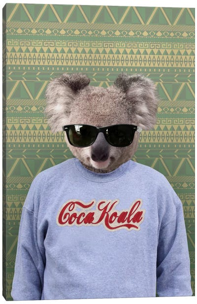Clifford the Koala Canvas Art Print