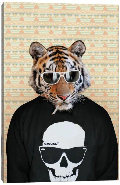 Trinny the Tiger Canvas Art Print