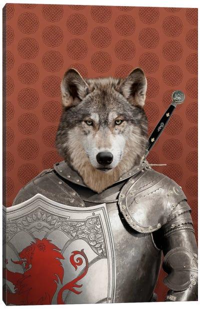 William the Wolf Canvas Art Print
