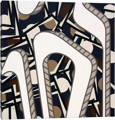 Lines Project #67 Canvas Art Print