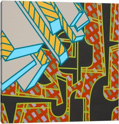 Lines Project #76 Canvas Art Print