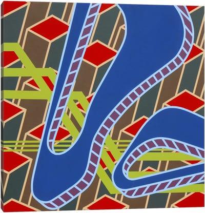 Lines Project #55 Canvas Art Print