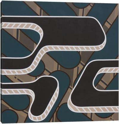 Lines Project #56 Canvas Art Print