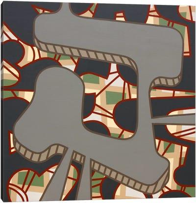 Lines Project #57 Canvas Art Print