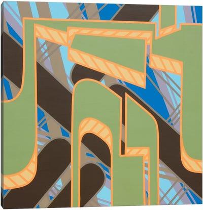 Lines Project #58 Canvas Art Print