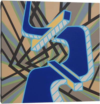 Lines Project #59 Canvas Art Print