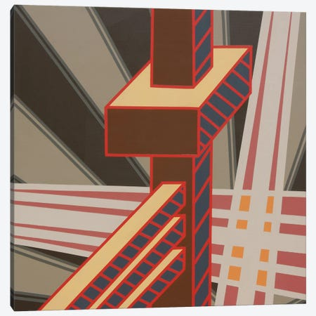 Lines Project #63 3-Piece Canvas #15505} by Eric Carbrey Canvas Art