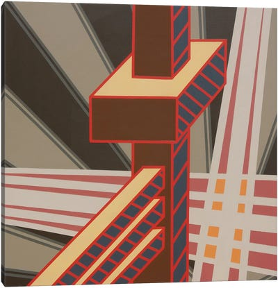 Lines Project #63 Canvas Art Print