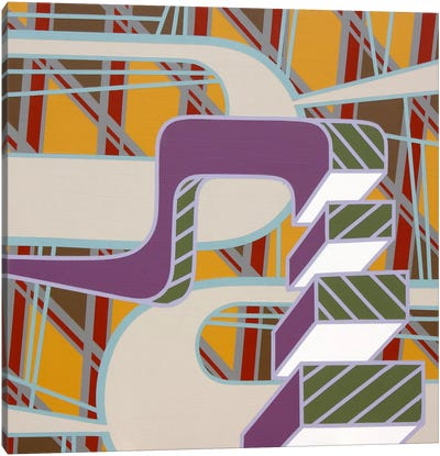 Lines Project #64 Canvas Art Print