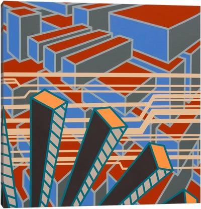 Lines Project #65 Canvas Art Print