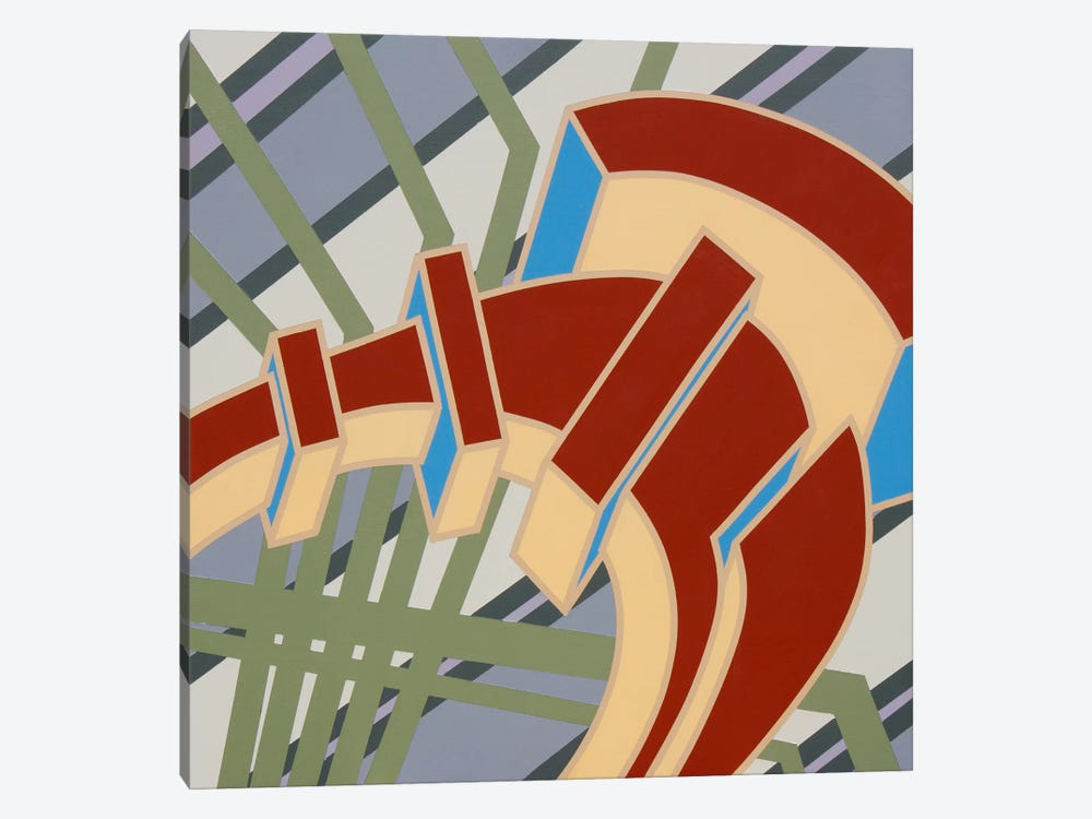 Lines Project #66 by Eric Carbrey 1-piece Canvas Wall Art