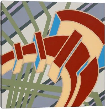 Lines Project #66 Canvas Art Print