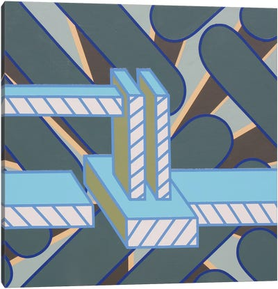 Lines Project #68 Canvas Art Print