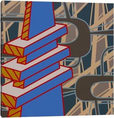 Lines Project #69 Canvas Art Print