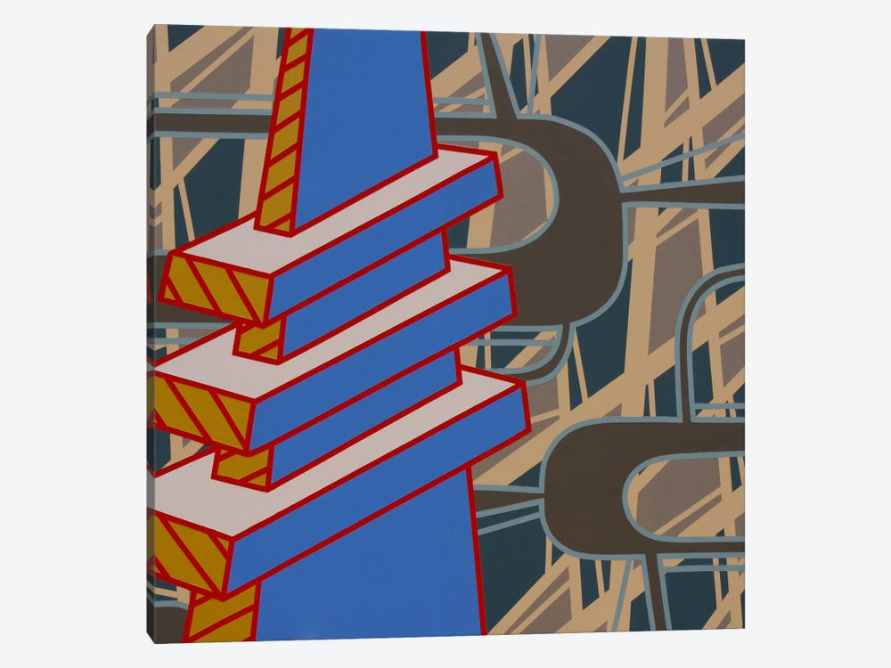 Lines Project #69 by Eric Carbrey 1-piece Art Print
