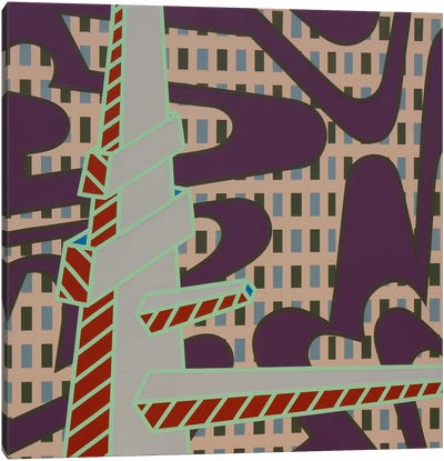 Lines Project #70 Canvas Art Print