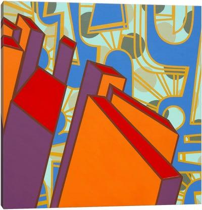Lines Project #71 Canvas Art Print