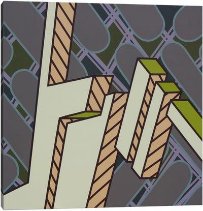 Lines Project #72 Canvas Art Print