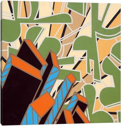 Lines Project #74 Canvas Art Print