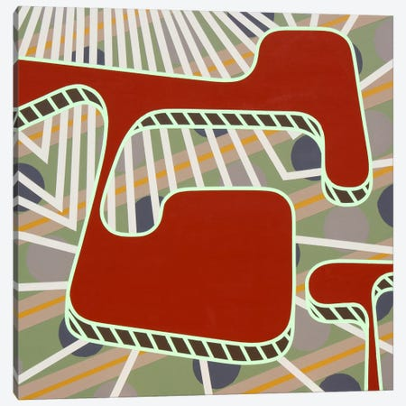 Lines Project #75 Canvas Print #15516} by Eric Carbrey Canvas Art Print