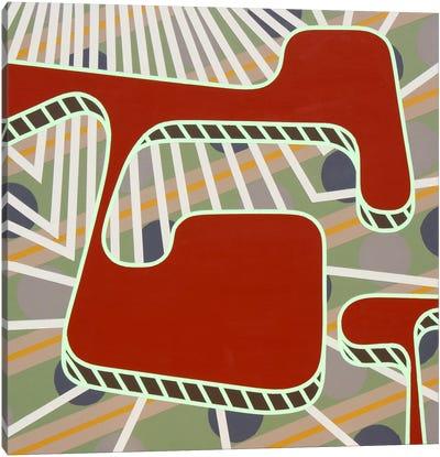 Lines Project #75 Canvas Art Print