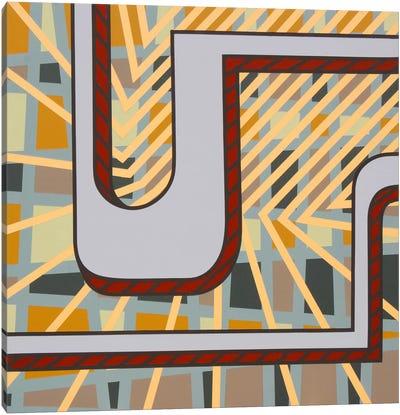 Lines Project #77 Canvas Art Print