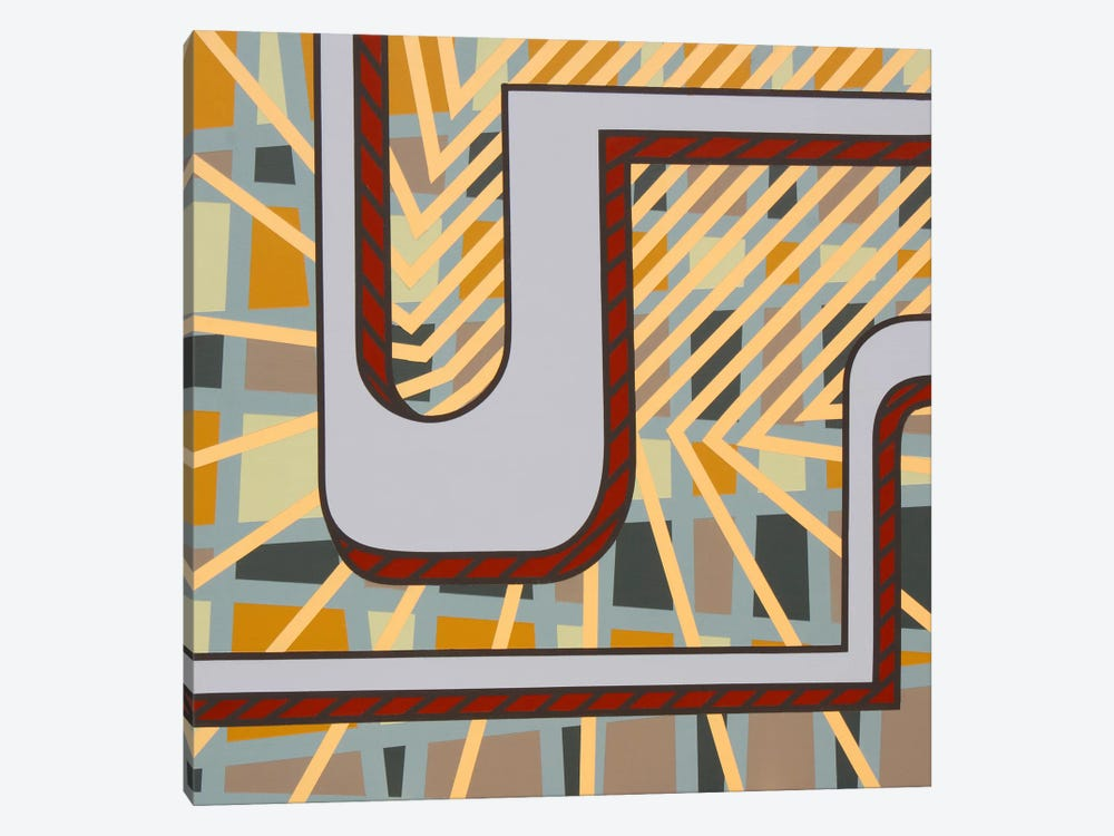 Lines Project #77 by Eric Carbrey 1-piece Canvas Art